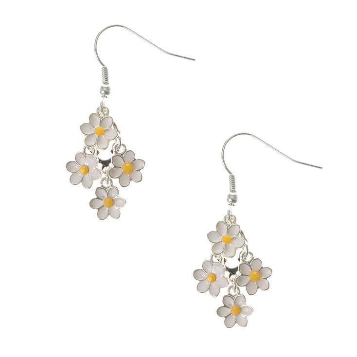 Daisy Chandelier Drop Earrings,