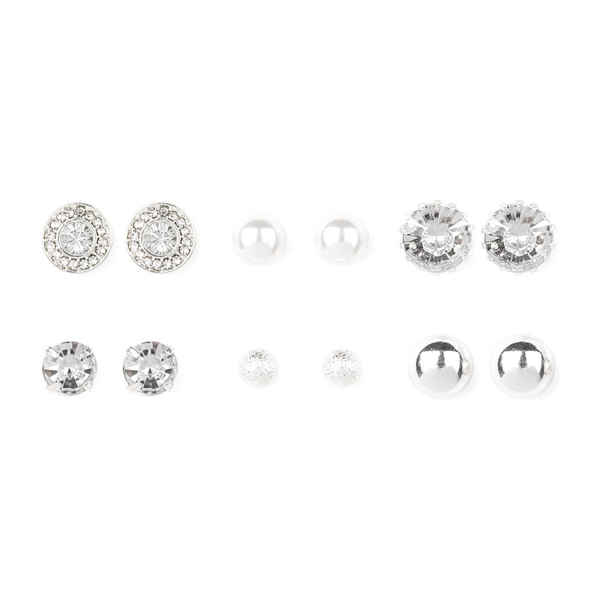 hiunni guys crystal with fake plug large stud l asian earrings