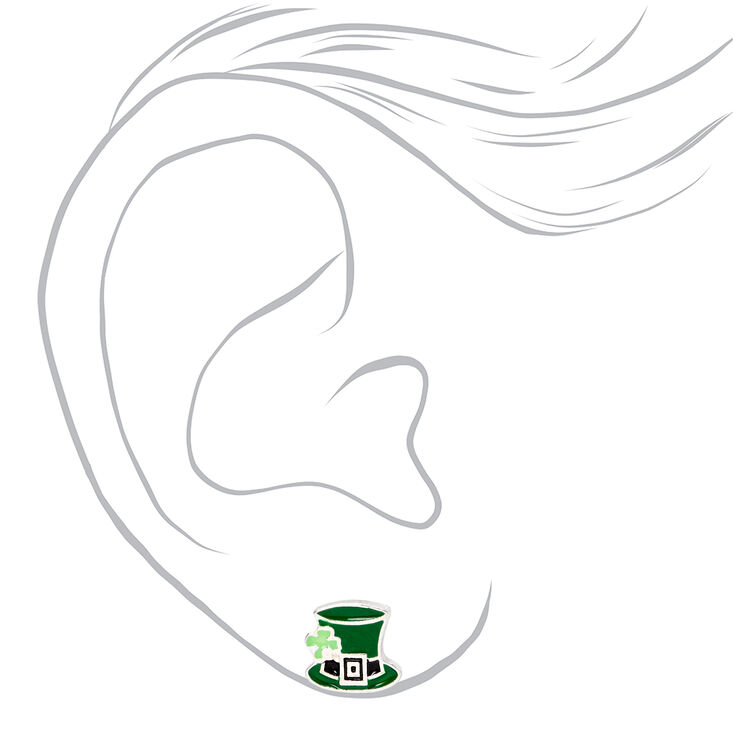 St. Patrick's Day Stud Earrings - 3 Pack,
