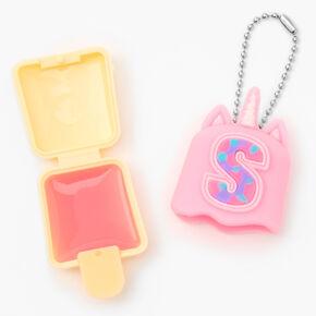 Pucker Pops® Initial Lip Gloss - Pink, S,
