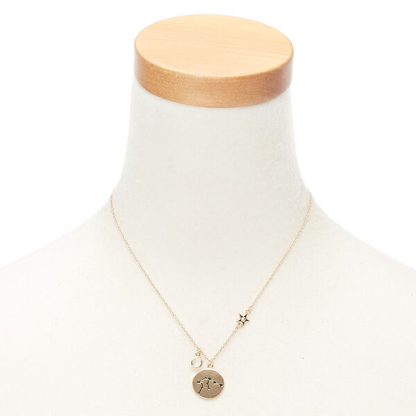 Claire's - zodiac pendant necklace - 2