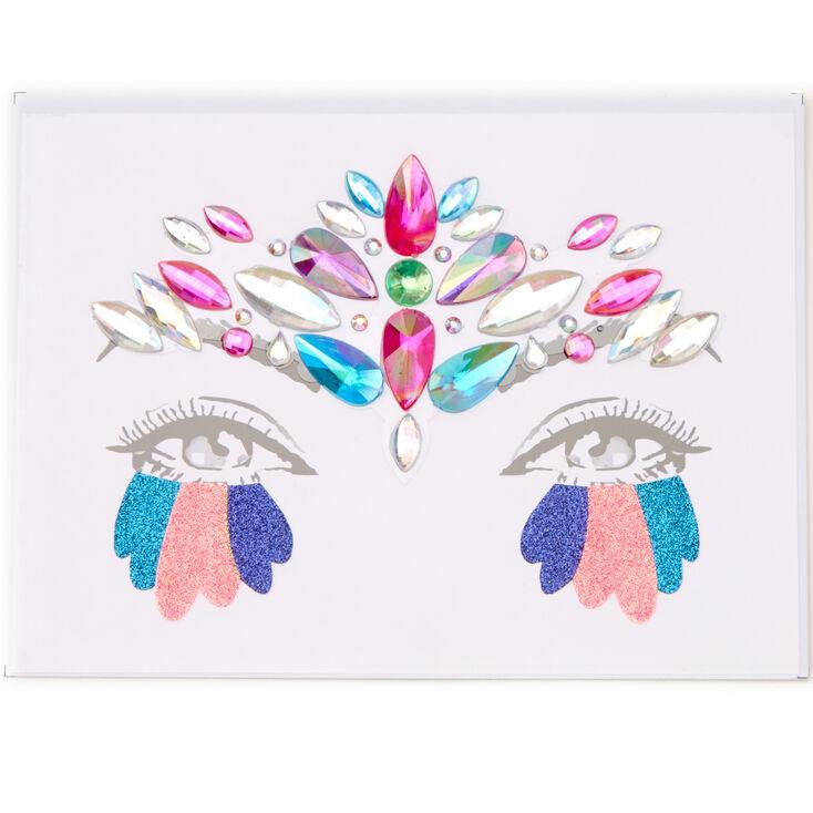 Gemstones & Glitter Face Stickers,