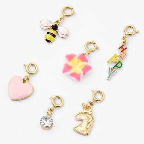 'Make Your Own' Charm Bracelet - Gold,