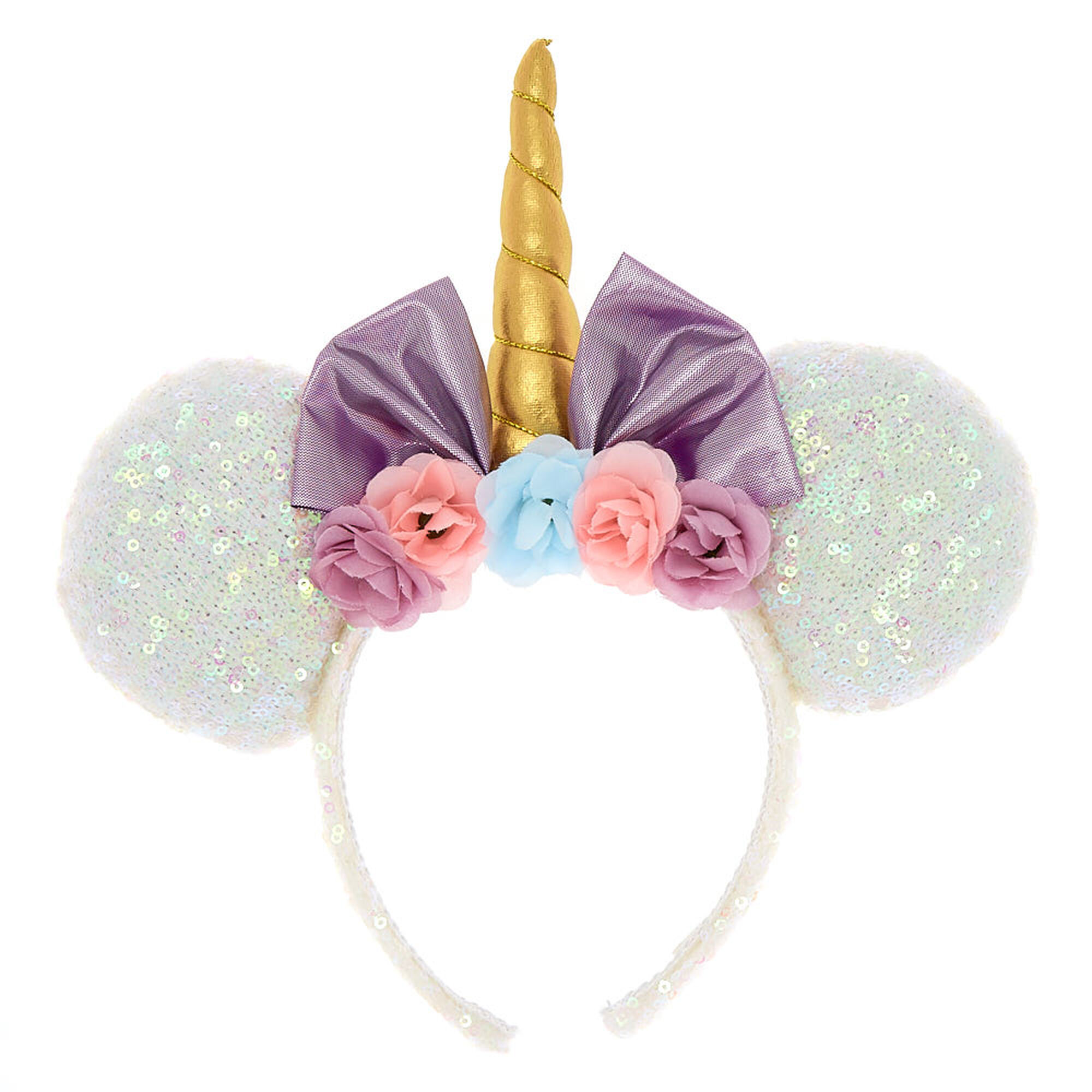 dfba8a2a4d7d Disney® Minnie Mouse Unicorn Ears | Claire's US