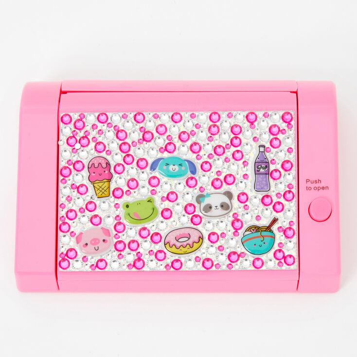 Icon Bling Mechanical Bling Lip Gloss Set - Pink,