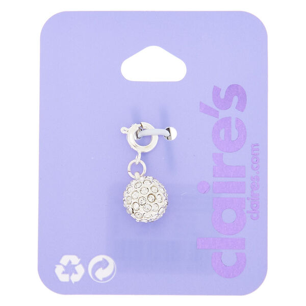 Claire's - fireball bracelet charm - 1