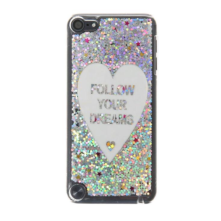 the best attitude 1a3de 582bc Glitter Follow Your Dreams iPod Case - iPod Touch 4