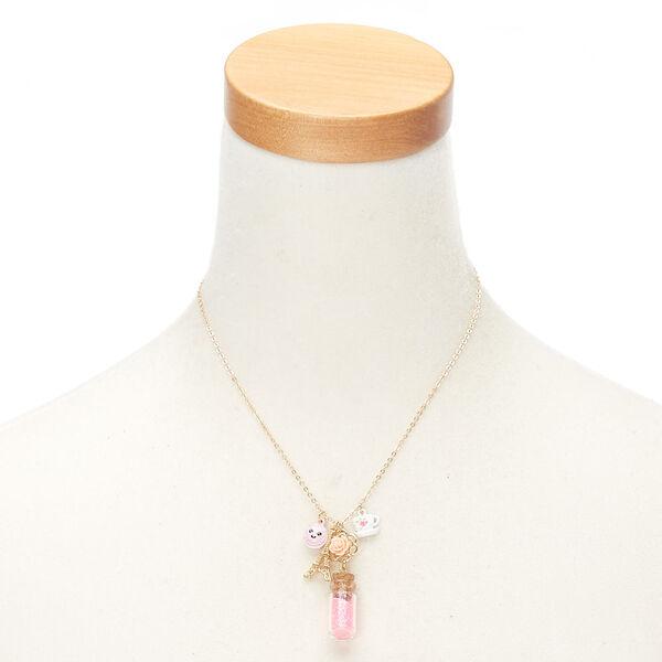Claire's - paris charm bottle pendant necklace - 2
