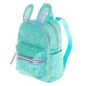 Petit sac à dos lapin pailleté - Vert menthe,