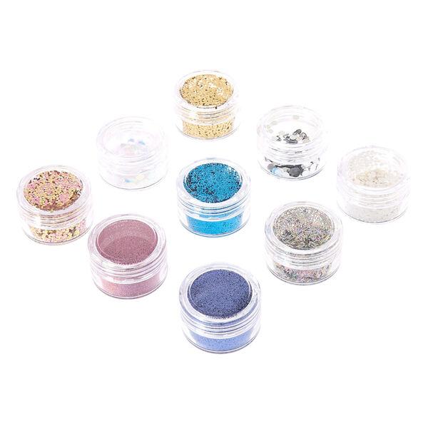 Claire's - pastel body glitter set - 1