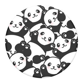PopSockets Swappable PopGrip - Pandamonium,