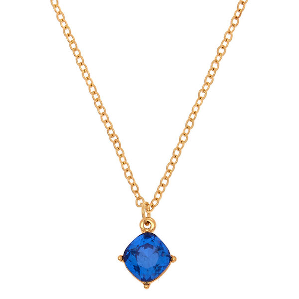 Claire's - september birthstone pendant necklace - 1