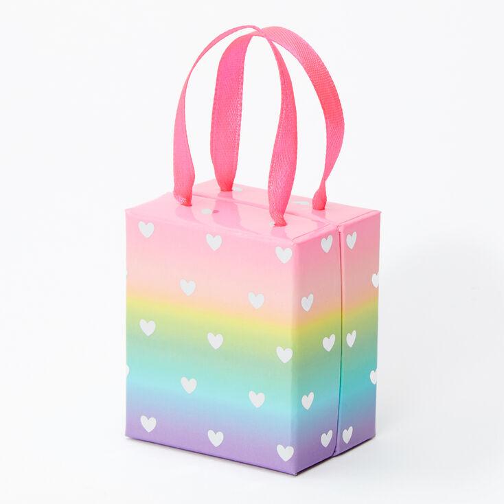 Small Rainbow Hearts Gift Box,