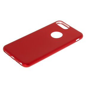 Matte Logo Cut Out Phone Case - Fits iPhone 6/7/8/SE,