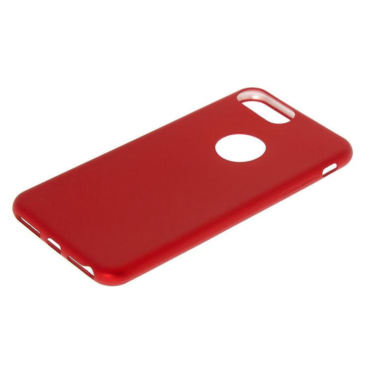 Matte Logo Cut Out Phone Case - Fits iPhone 6/7/8/SE,