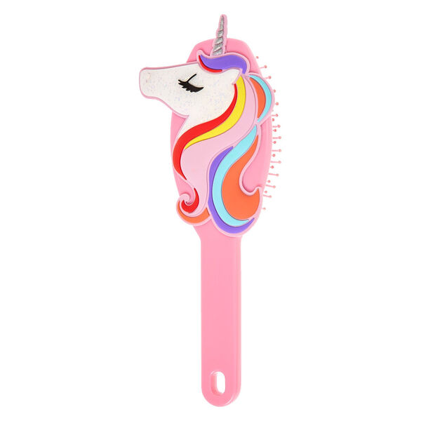 Claire's - magical unicorn hair brush - 1
