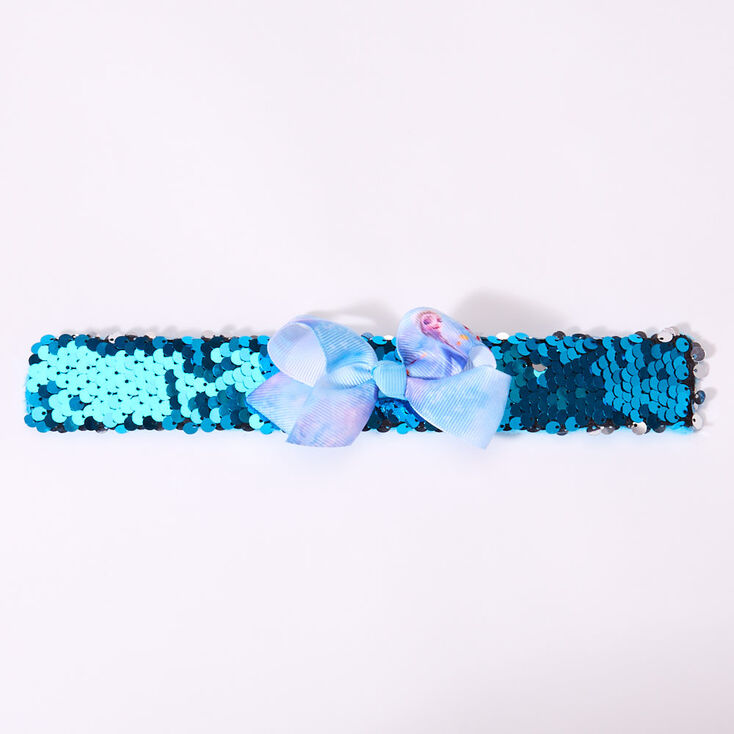 Bracelet enrouleur à sequins La Reine des Neiges2 ©Disney - Bleu,