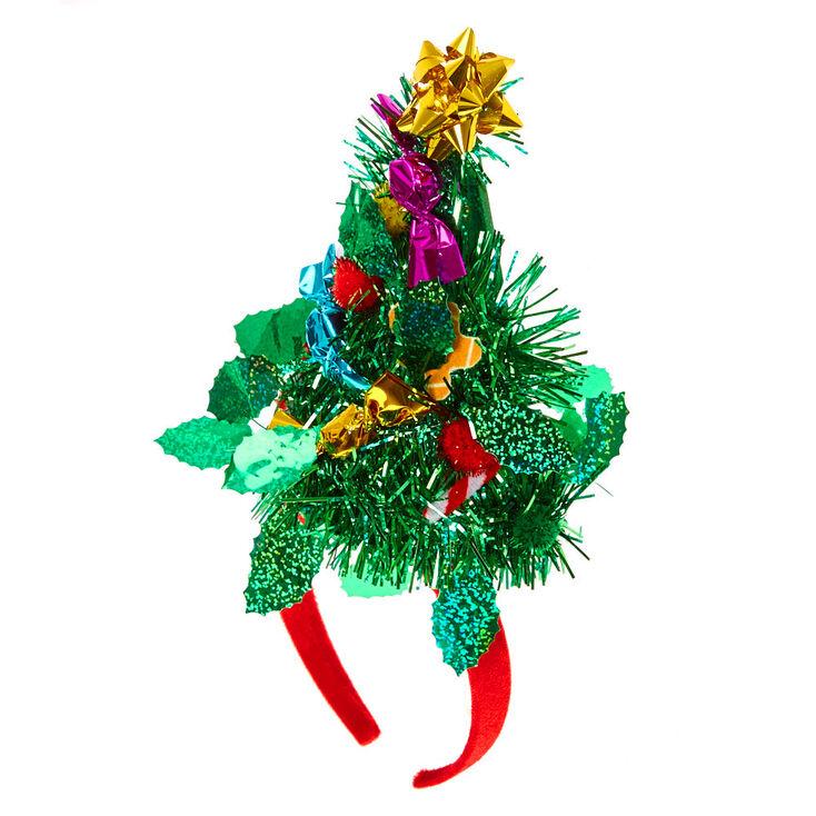 Christmas Headband For Adults.3d Christmas Tree Headband