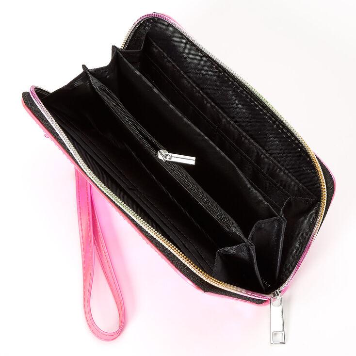 Reversible Sequin Wristlet - Pink,