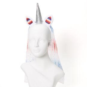 Americorn Ears Headband - White,