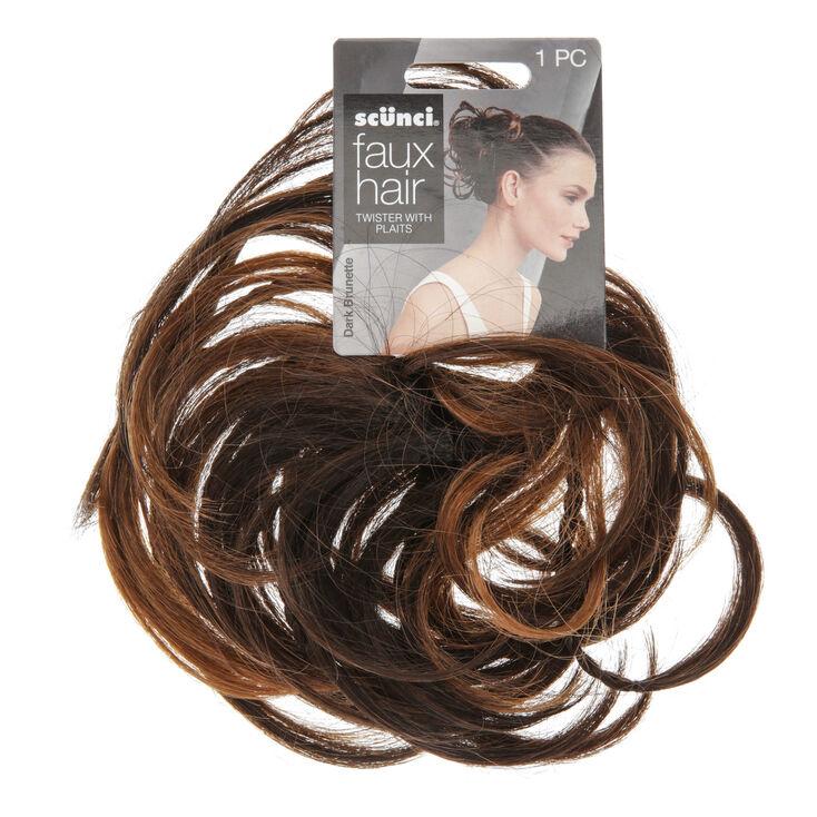 élastique Avec Cheveux Synthétiques Et Tresses Claire S Fr