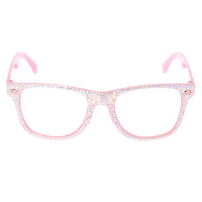 daac76631e7 Claire s Club Holographic Frames - Pink