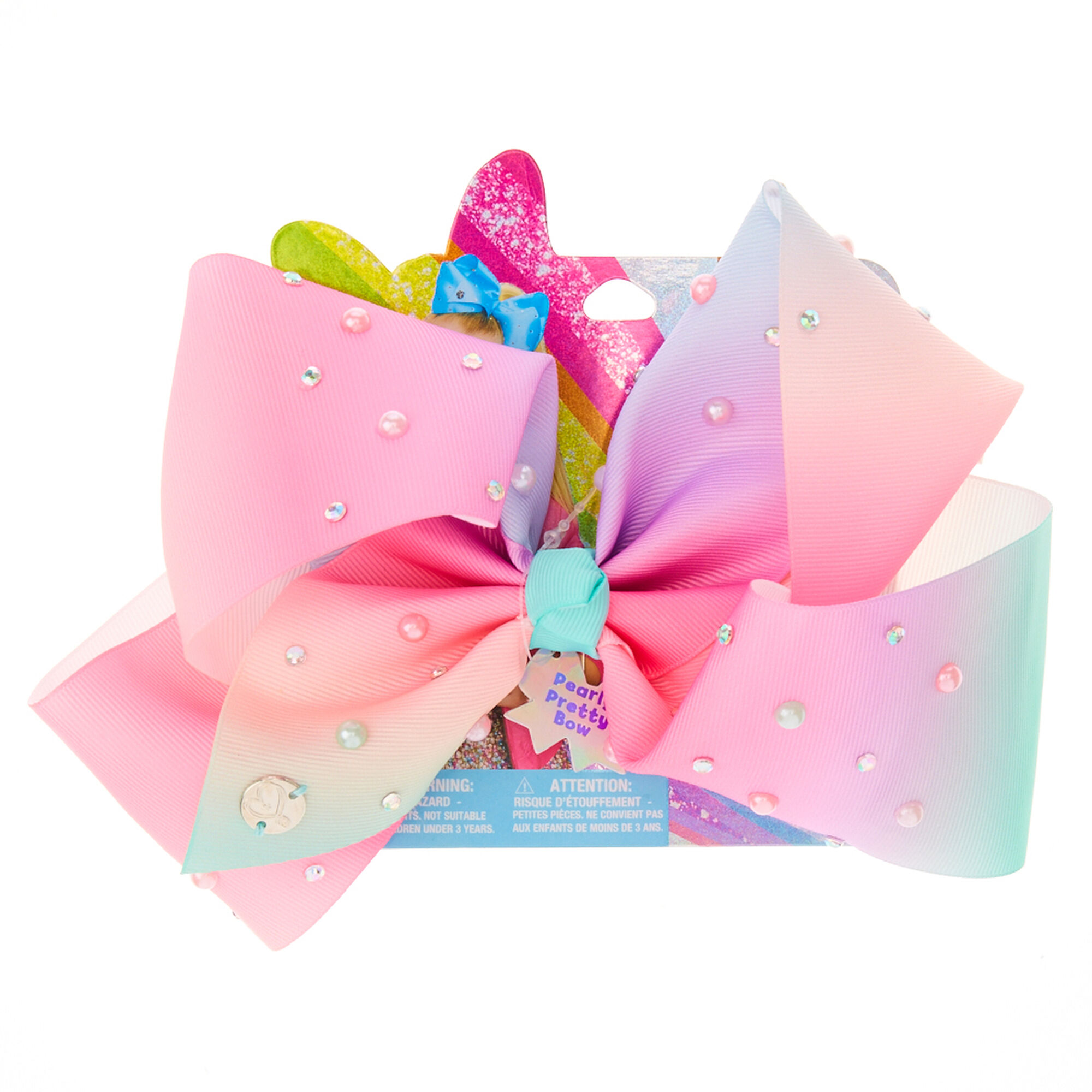 Jojo Siwa Pearly Pretty Bow Hair Bow Claire S Us