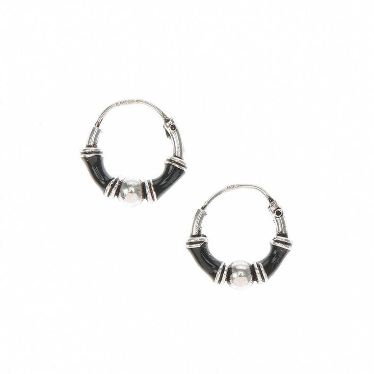 Sterling Silver 10MM Hoop Earrings  33b6821c2a10