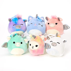"Squishmallows™ 3"" Dream Keyring Clip - Styles May Vary,"
