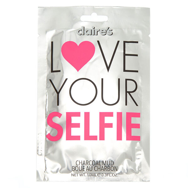 Claire's - love your selfie mud mask - 1
