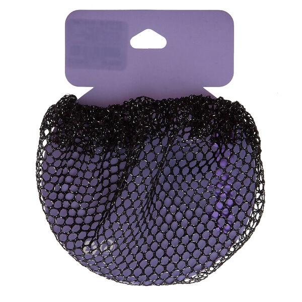 Claire's - lure bun hair net - 1