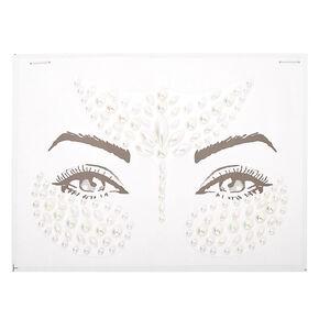 Bijoux de peau perle d'imitation - Blanc,
