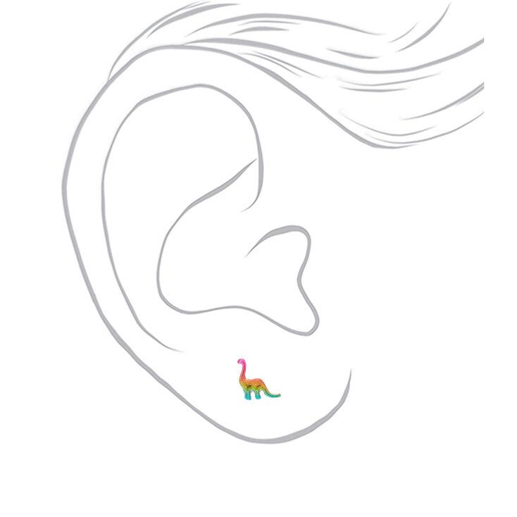 Rainbow Fun Stud Earrings - 9 Pack,