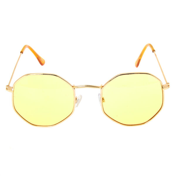 Claire's - octagonal sunglasses - 2