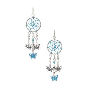 Go to Product: Turquoise Dreamcatcher Butterfly Earrings from Claires