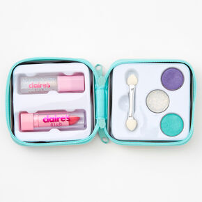 Claire's Club Butterfly Gem Makeup & Tin Set - Pink,
