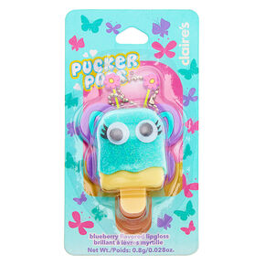 Pucker Pops Butterfly Lip Gloss - Blueberry,