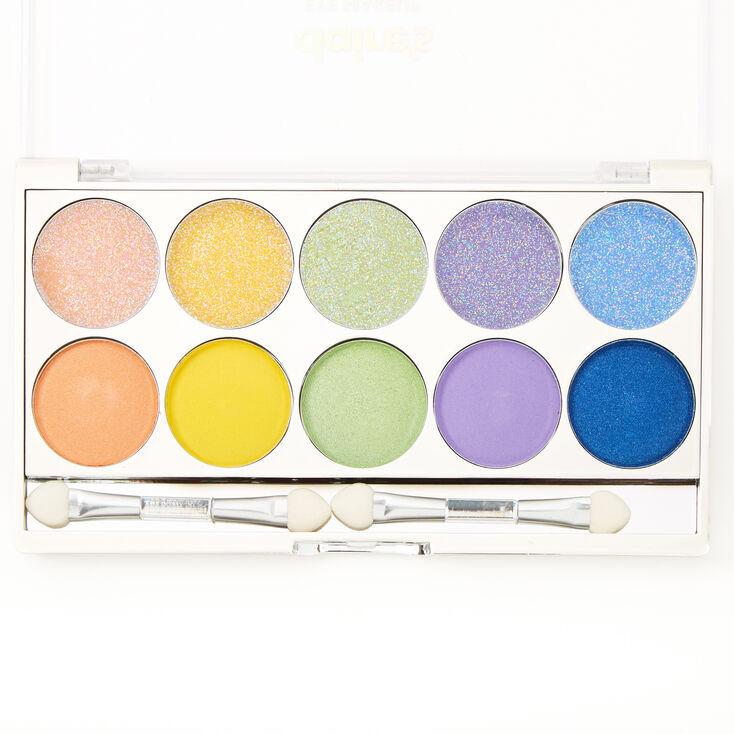 Neon Glitz Glitter & Shimmer Eyeshadow Palette,