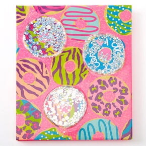 I Donut Care Makeup Booklet - Pink,