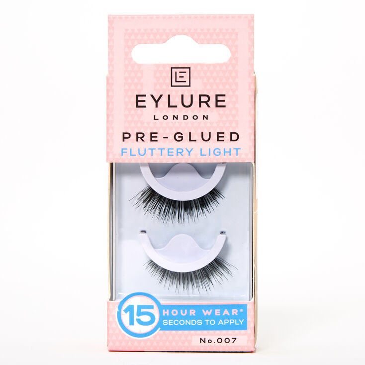 Eylure Fluttery Light No. 007 Pre-Glued False Lashes,