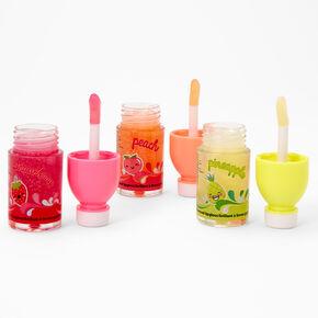 Gloss à l'eau parfumée aux fruits - Lot de 3,