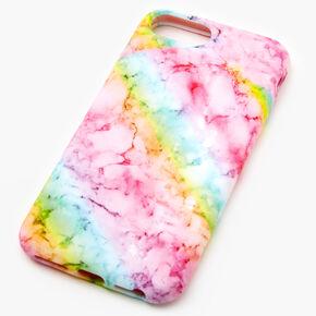 Pastel Rainbow Marble Phone Case - Fits iPhone 6/7/8 SE,