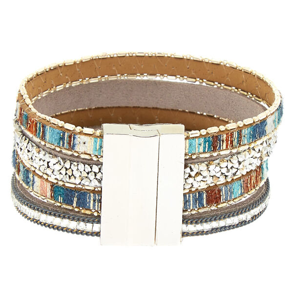 Claire's - desert layered wrap bracelet - 2