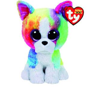 b702304331c Ty Beanies Claire S Us. Rainbow The Poodle Medium. Beaniepedia Beanie Babies  Base