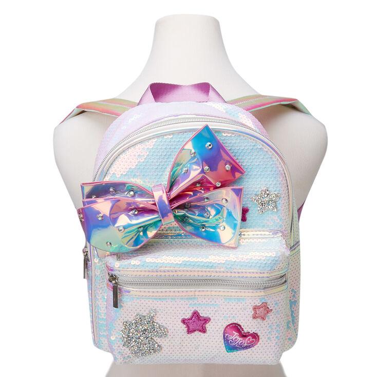 Jojo siwa™ Holographic Sequins Mini Backpack – Pink,
