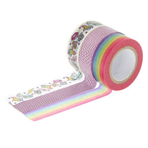 Rainbow Unicorn Washi Tape Set,