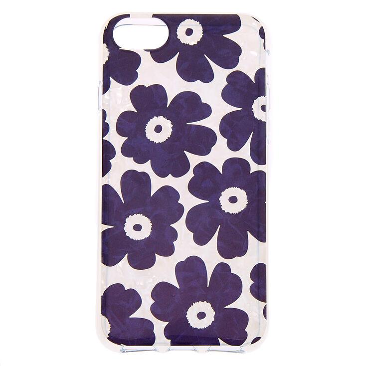 Retro Flower Protective Phone Case - Fits iPhone 6/7/8/SE,