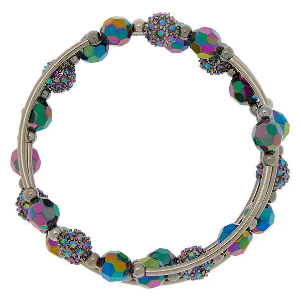 Claire's - hematite anodized fireball wrap bracelet - 2