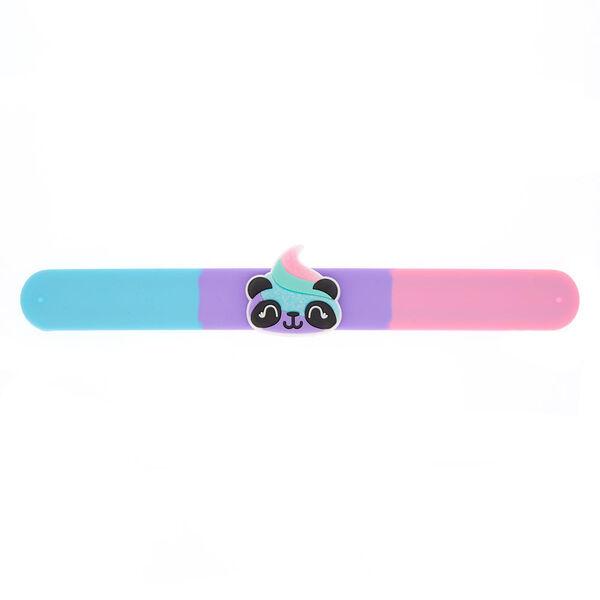Claire's - panda poo emoji slap bracelet - 1