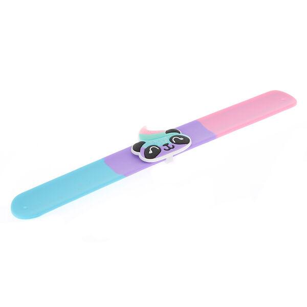 Claire's - panda poo emoji slap bracelet - 2